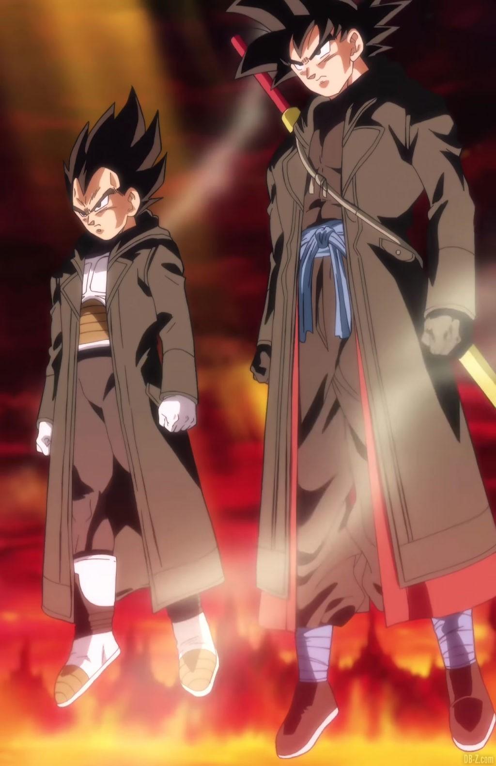 Goku Xeno et Vegeta Xeno