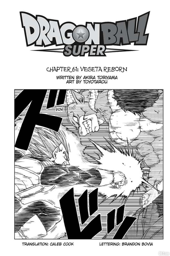 Chapitre 61 Dragon Ball Super