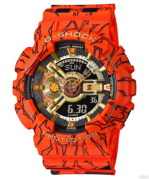 Dragon Ball G Shock GA 110JDB 1A4JR 1