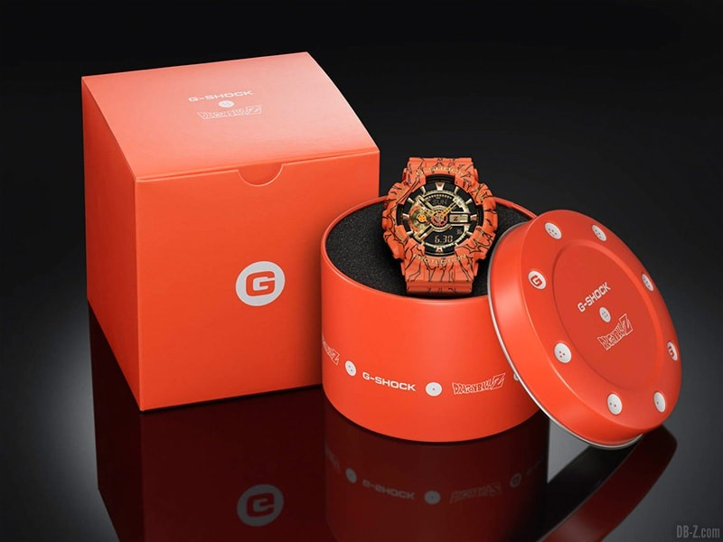Dragon Ball G Shock GA 110JDB 1A4JR Boitier