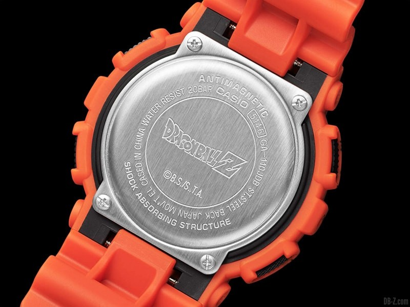 Dragon Ball G Shock GA 110JDB 1A4JR Dos