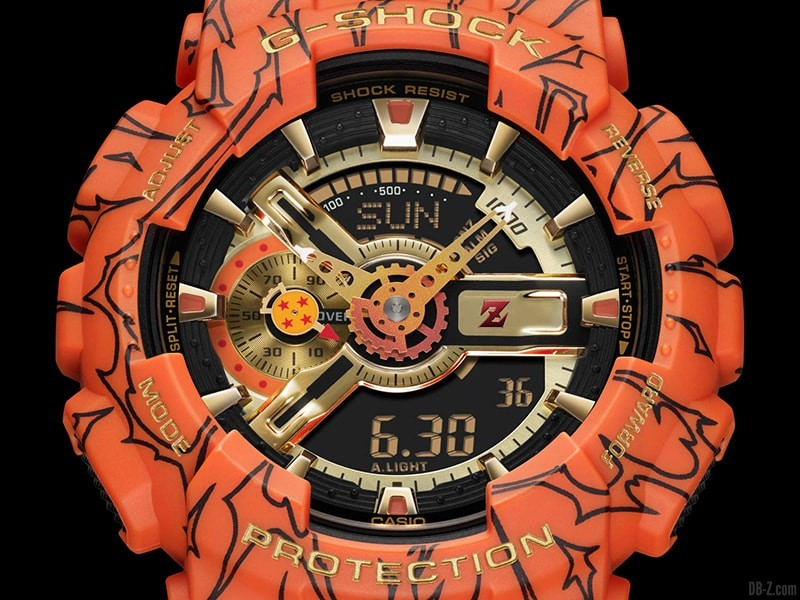 Dragon Ball G Shock GA 110JDB 1A4JR Ecran