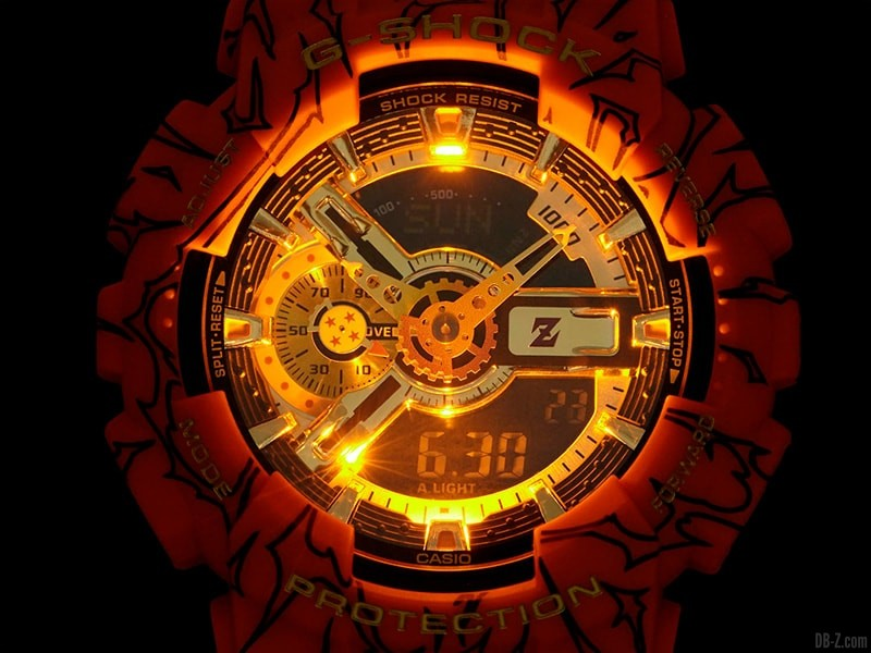 Dragon Ball G Shock GA 110JDB 1A4JR Led