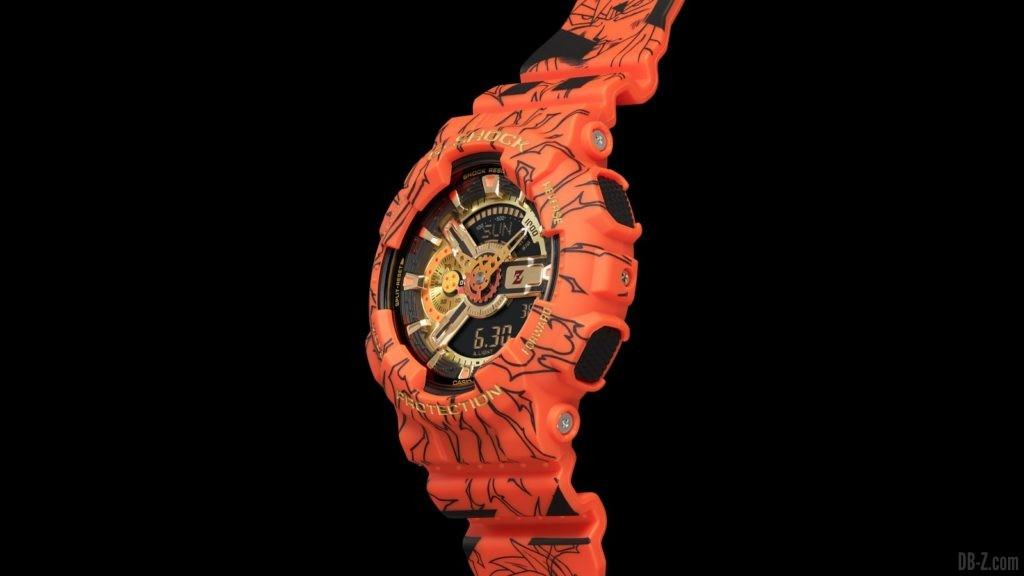 Dragon Ball G Shock GA 110JDB 1A4JR Montre