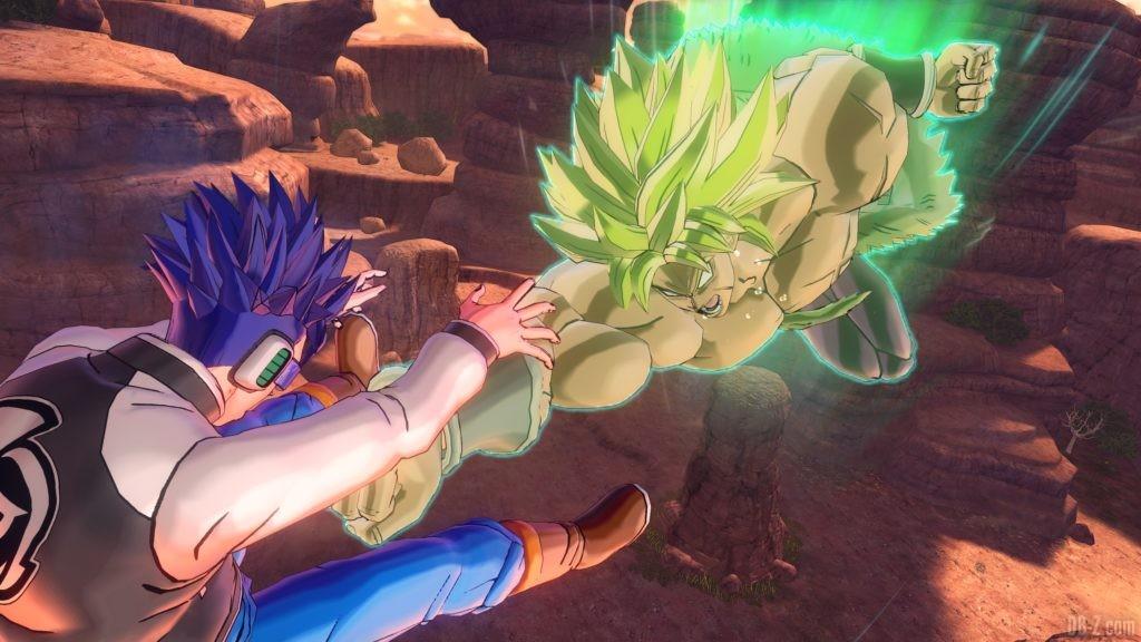 Dragon Ball Xenoverse 2 Raid Boss Broly Super Saiyan Full Power