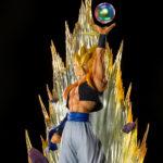 Figuarts Zero Super Saiyan Gogeta Resurrection Fusion premiere image