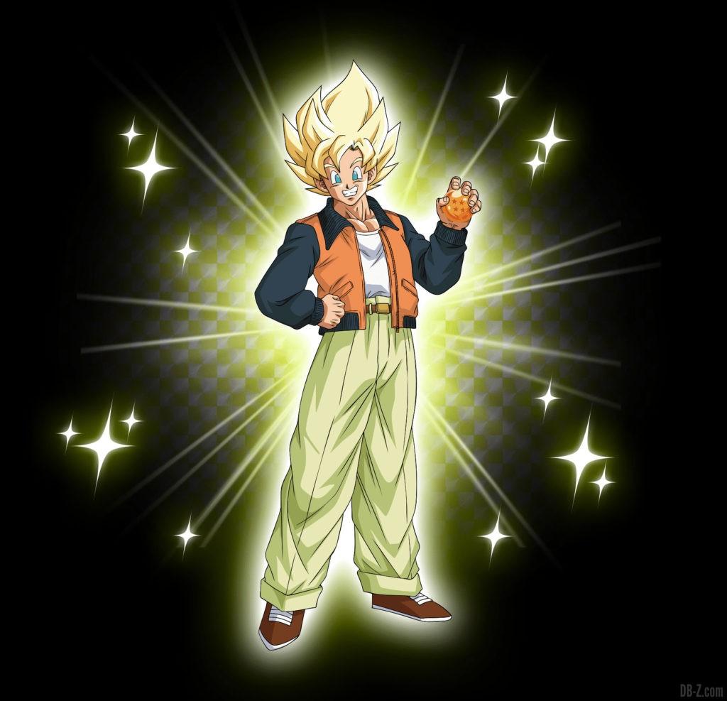 Figurine Goku Day Super Saiyan décontracté
