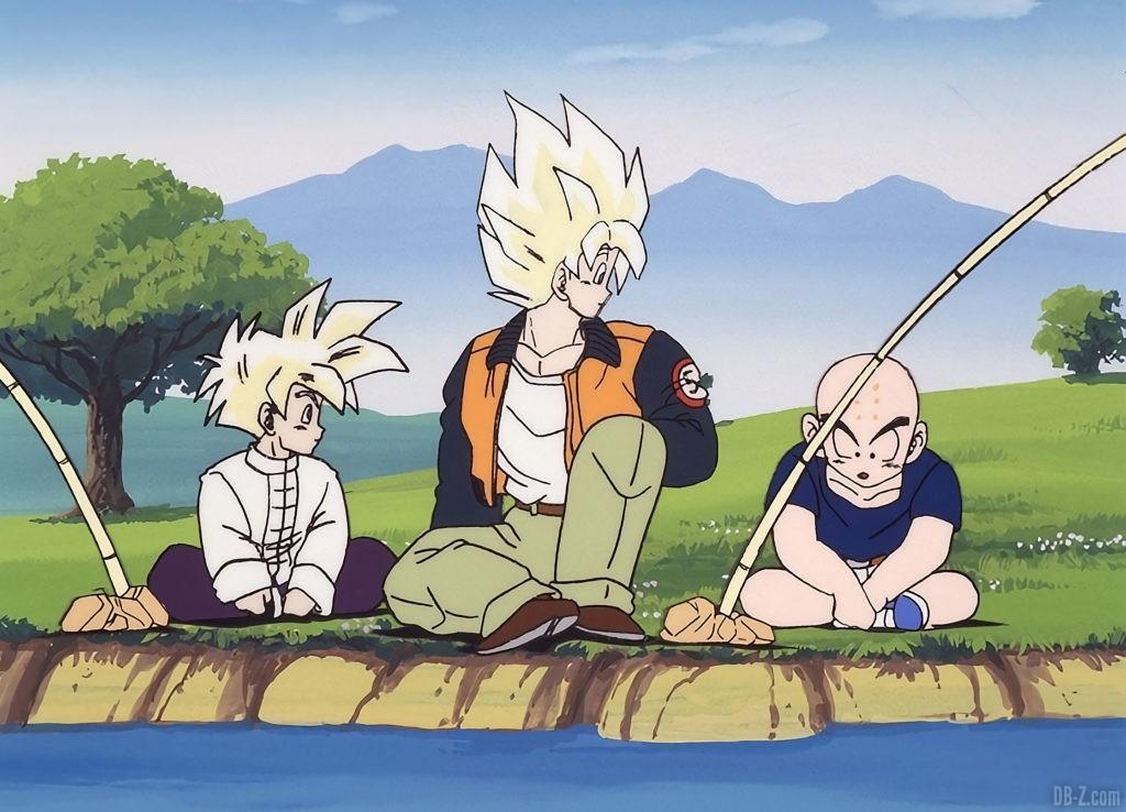 Goku Super Saiyan Tenue decontractee Figurine Goku Day 2021