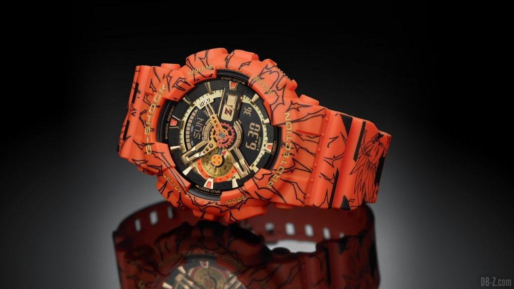 Montre Dragon Ball G Shock GA 110JDB 1A4JR