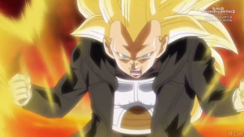 Xeno Vegeta Super Saiyan 3 SDBH Big Bang Mission Episode 4