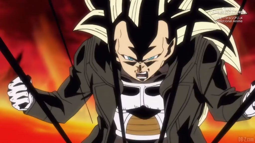 Xeno Vegeta Super Saiyan 3 SDBH Big Bang Mission Episode 4 Image 2