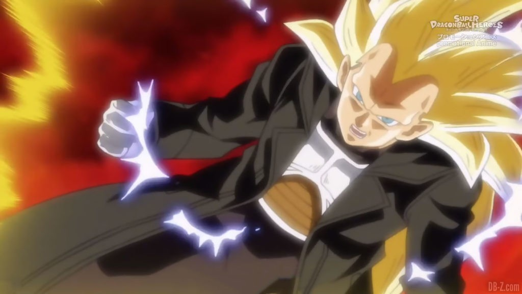 Xeno Vegeta Super Saiyan 3 SDBH Big Bang Mission Episode 4 Image 3