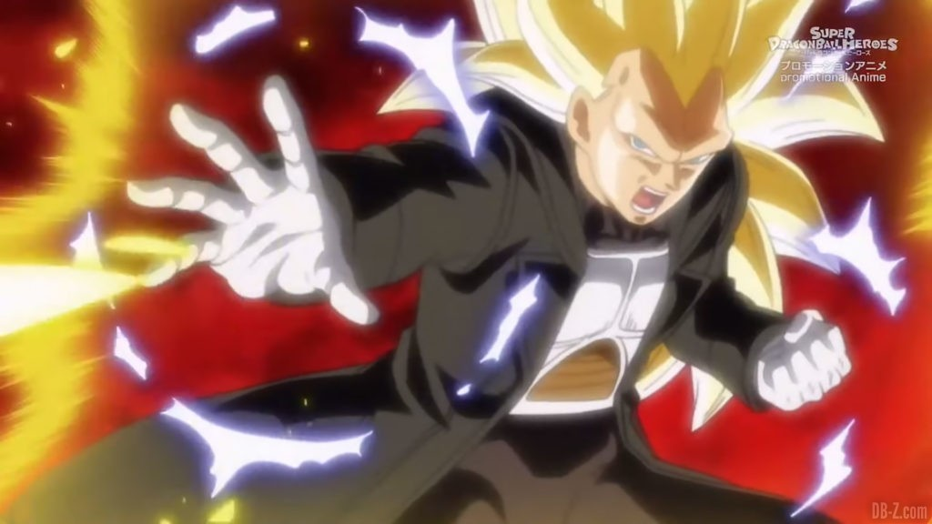 Xeno Vegeta Super Saiyan 3 SDBH Big Bang Mission Episode 4 Image 4