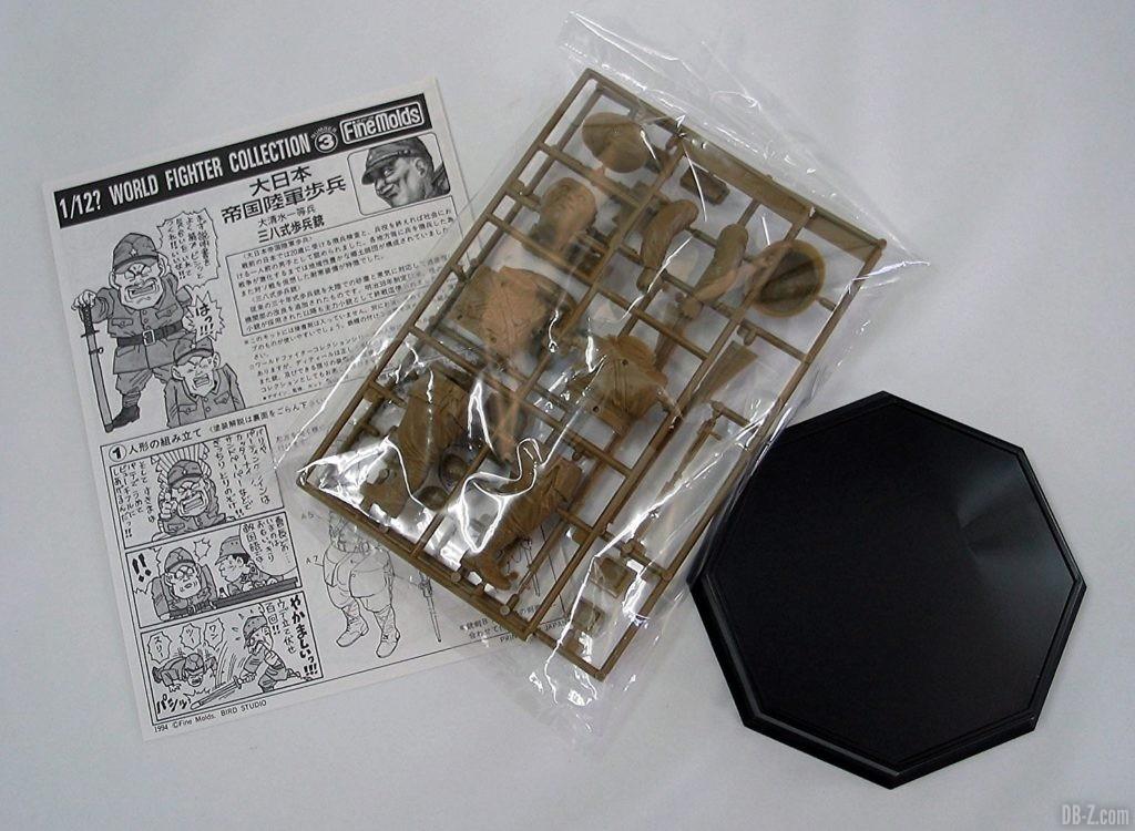 Akira Toriyama illustration figurine The Chinese Incident Imperial Japanese Army Infantryman Notice