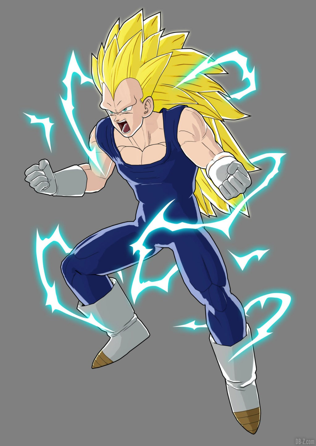 Artwork Vegeta Super Saiyan 3 Raging Blast