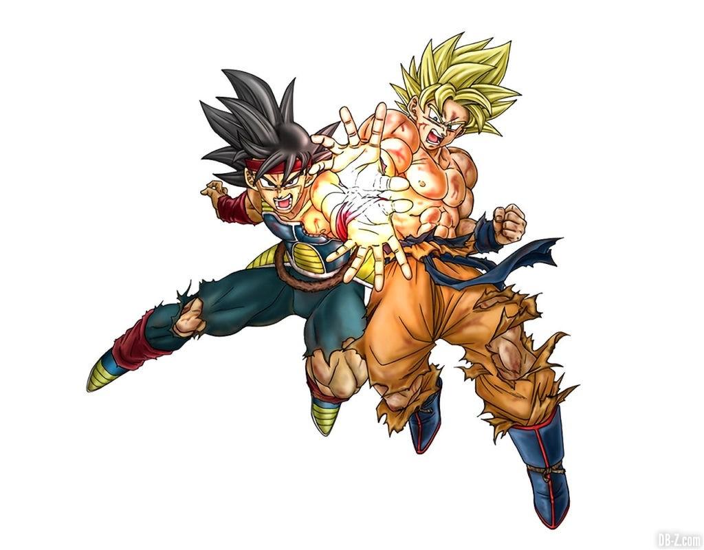Figurine Goku Bardock Toyotaro 1