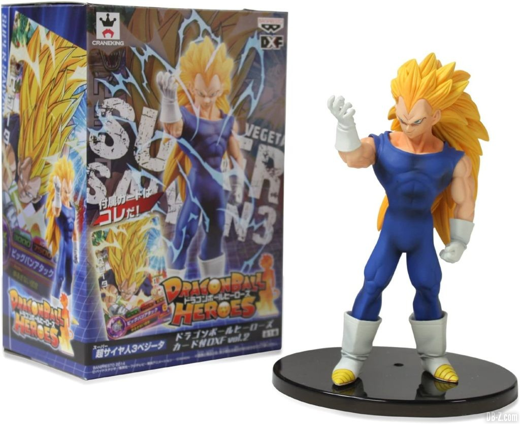 Figurine Vegeta Super Saiyan 3 Dragon Ball Heroes