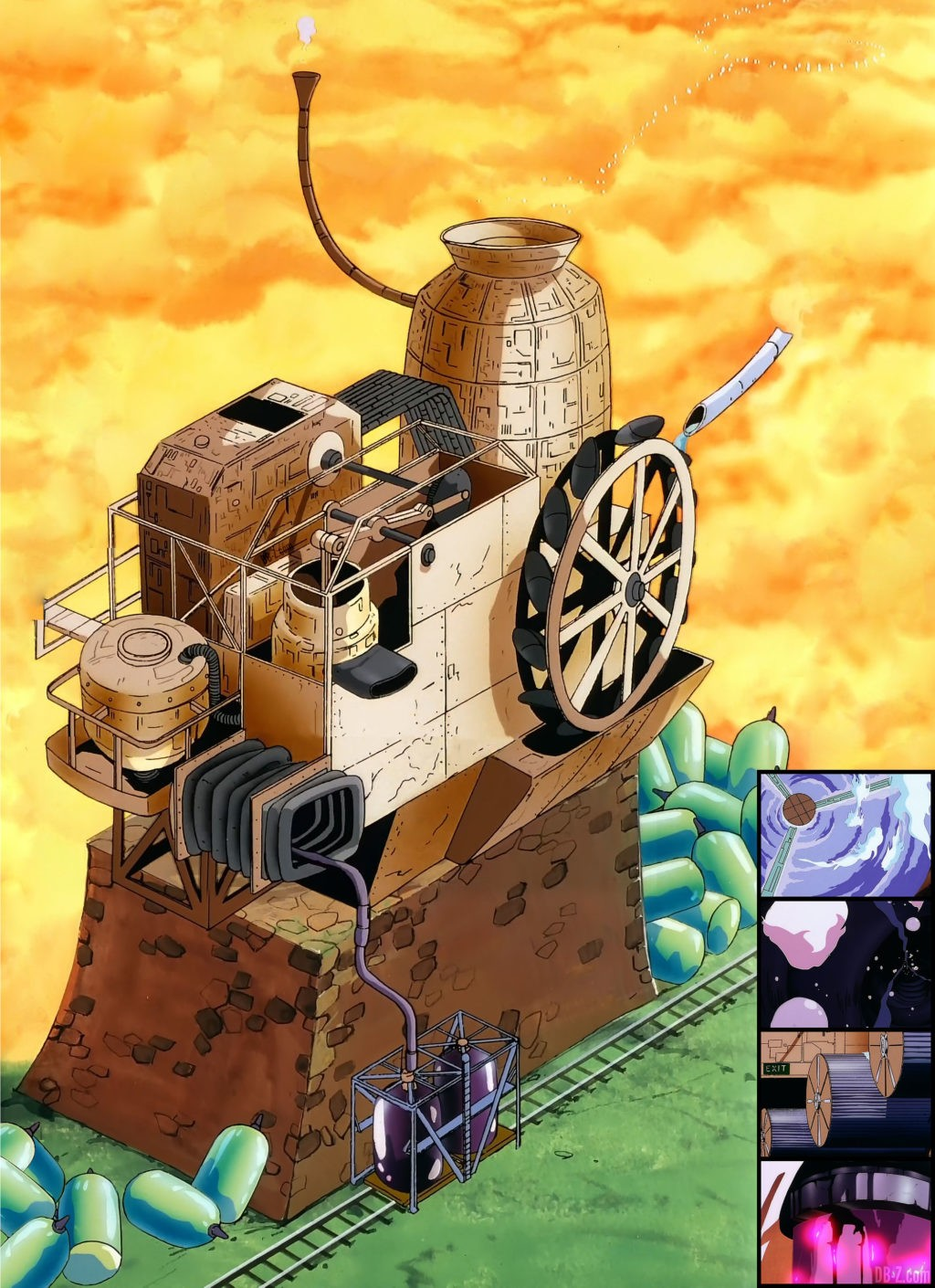 Machine à laver les esprits en Enfer Dragon Ball Film Fusions 1