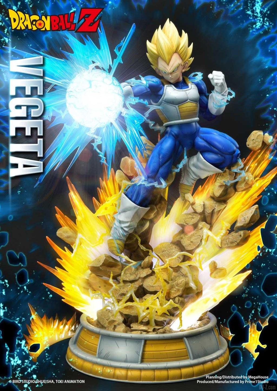 Statue Mega Premium Masterline Dragon Ball Z Super Saiyan Vegeta 01