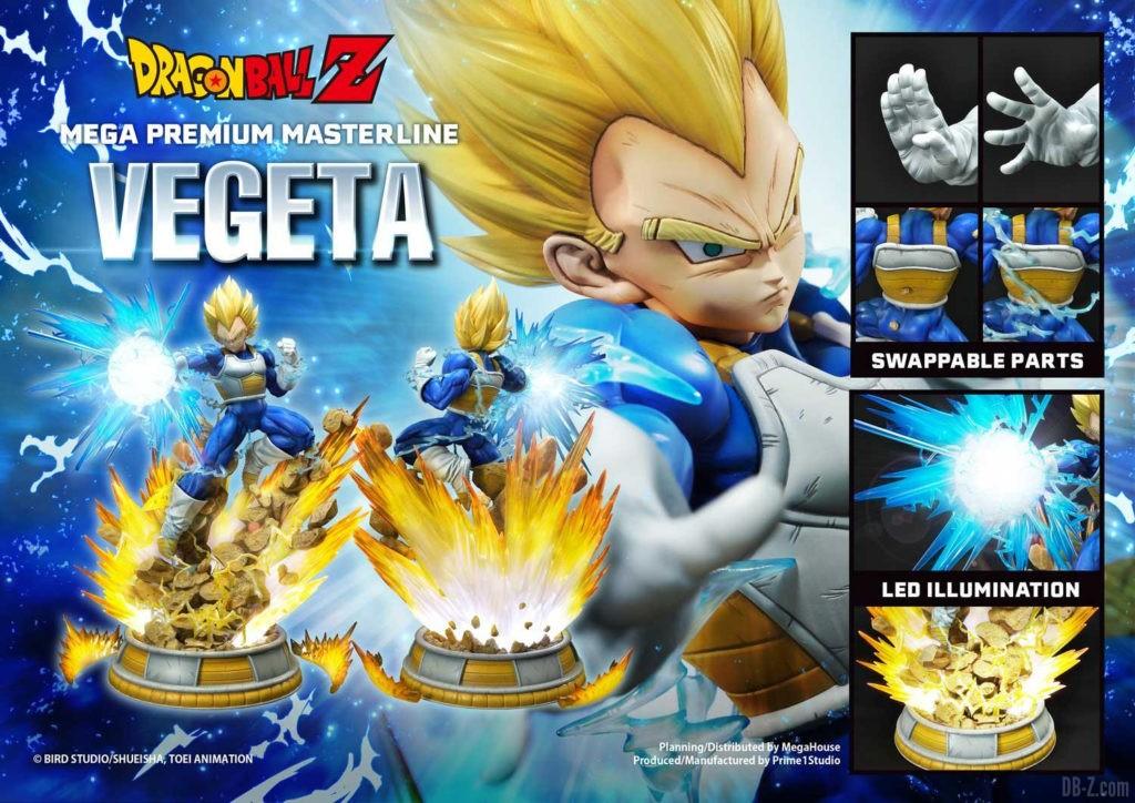 Statue Mega Premium Masterline Dragon Ball Z Super Saiyan Vegeta 03