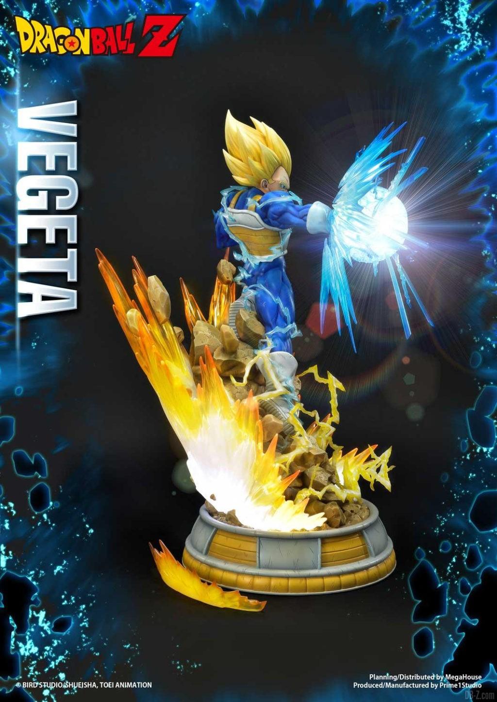 Statue Mega Premium Masterline Dragon Ball Z Super Saiyan Vegeta 07