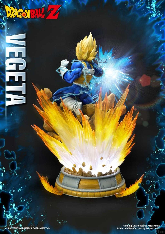 Statue Mega Premium Masterline Dragon Ball Z Super Saiyan Vegeta 08