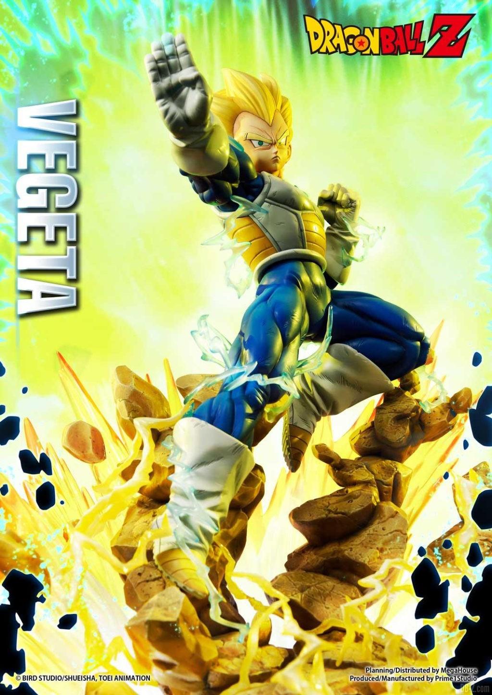 Statue Mega Premium Masterline Dragon Ball Z Super Saiyan Vegeta 09