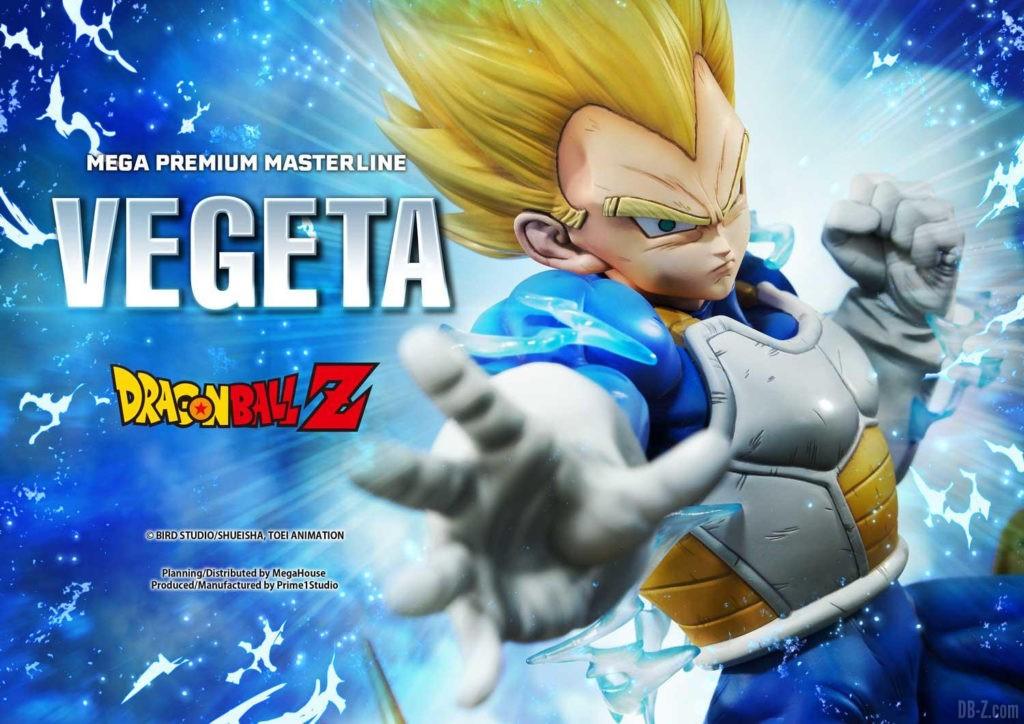 Statue Mega Premium Masterline Dragon Ball Z Super Saiyan Vegeta 10