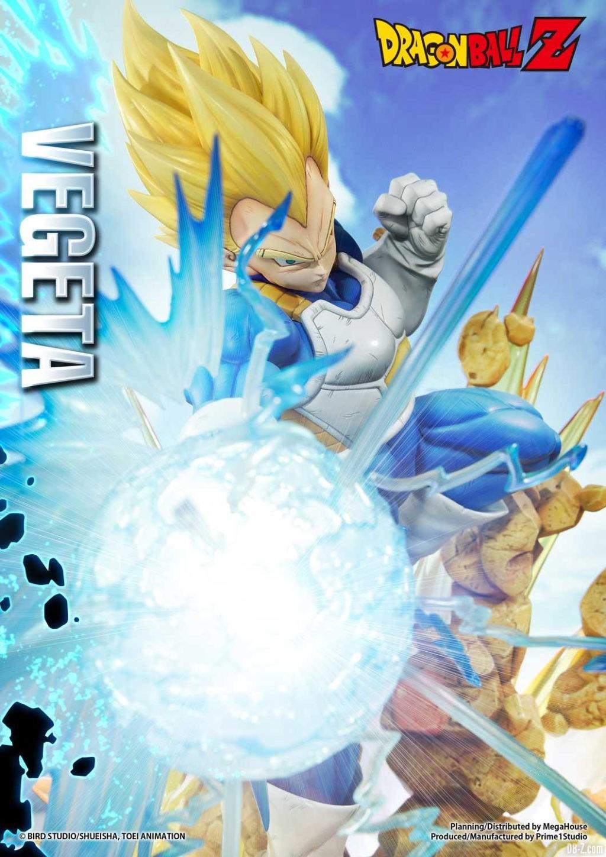 Statue Mega Premium Masterline Dragon Ball Z Super Saiyan Vegeta 12