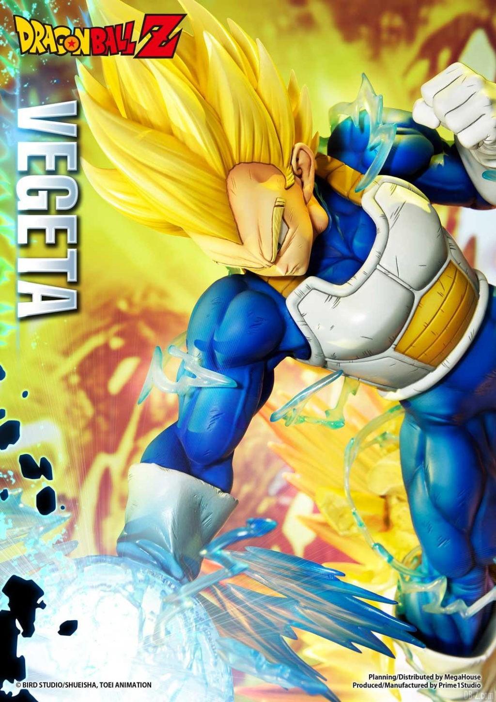 Statue Mega Premium Masterline Dragon Ball Z Super Saiyan Vegeta 13