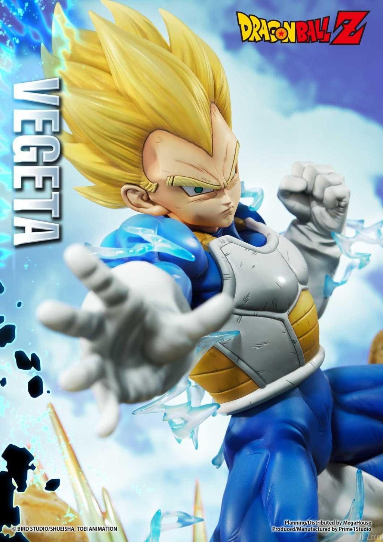 Statue Mega Premium Masterline Dragon Ball Z Super Saiyan Vegeta 14