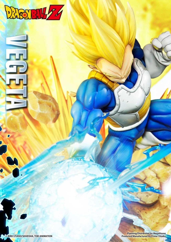 Statue Mega Premium Masterline Dragon Ball Z Super Saiyan Vegeta 17