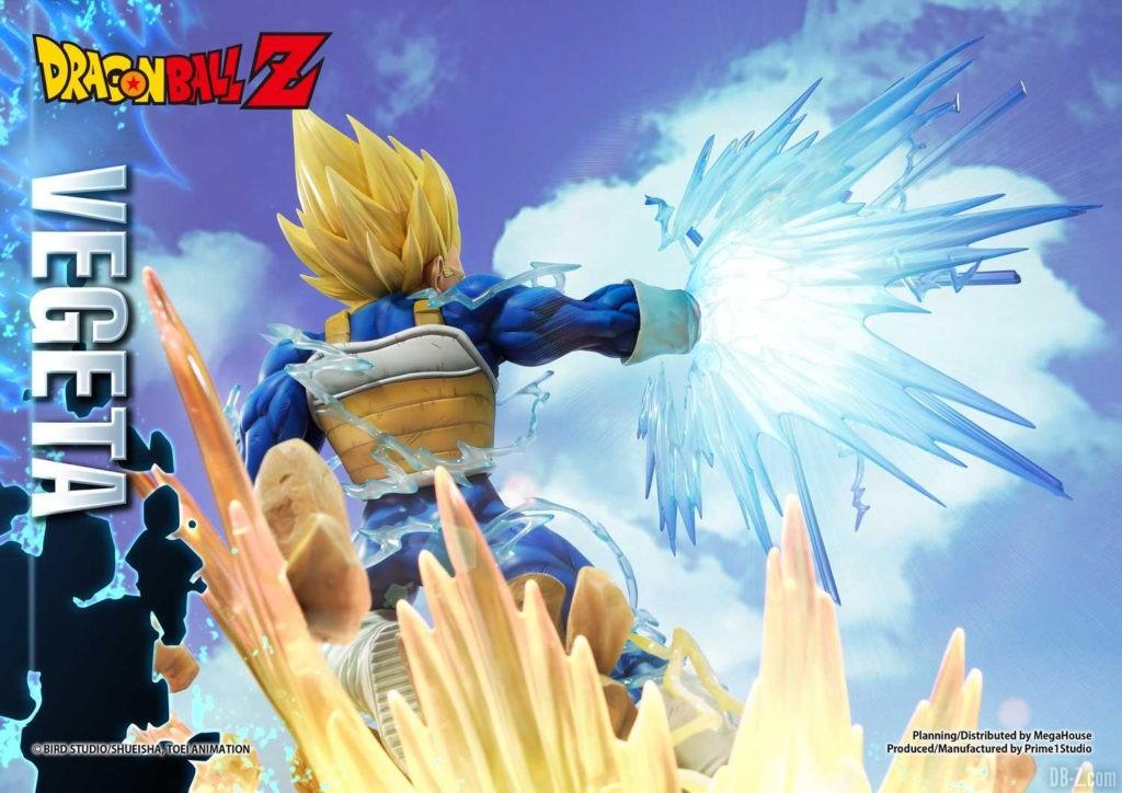 Statue Mega Premium Masterline Dragon Ball Z Super Saiyan Vegeta 23