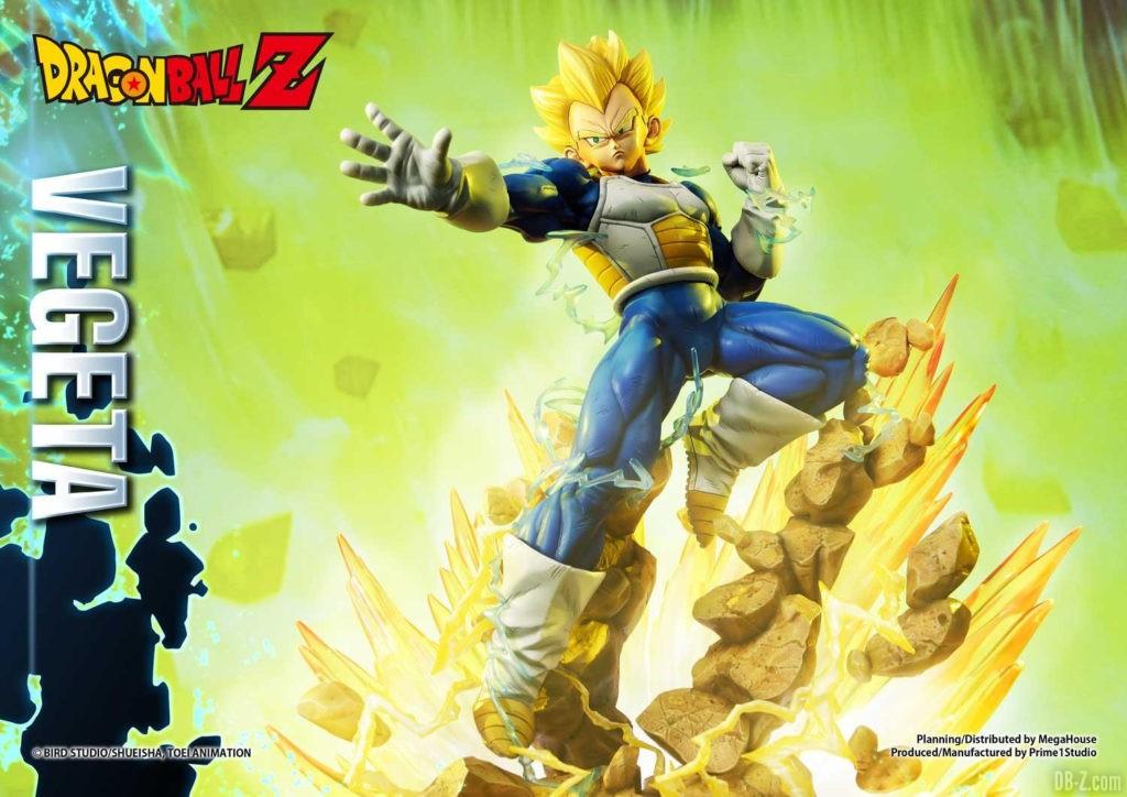 Statue Mega Premium Masterline Dragon Ball Z Super Saiyan Vegeta 25
