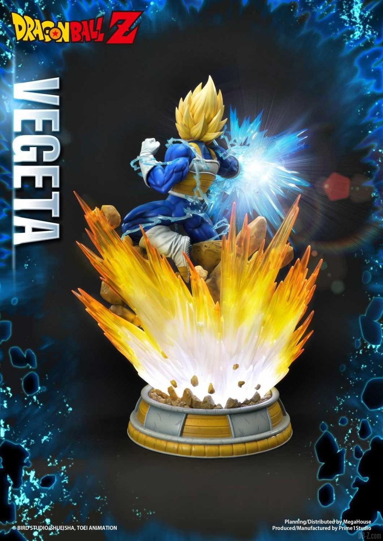 Statue Mega Premium Masterline Dragon Ball Z Super Saiyan Vegeta 33