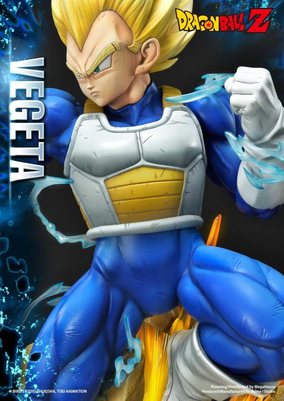 Statue Mega Premium Masterline Dragon Ball Z Super Saiyan Vegeta 37