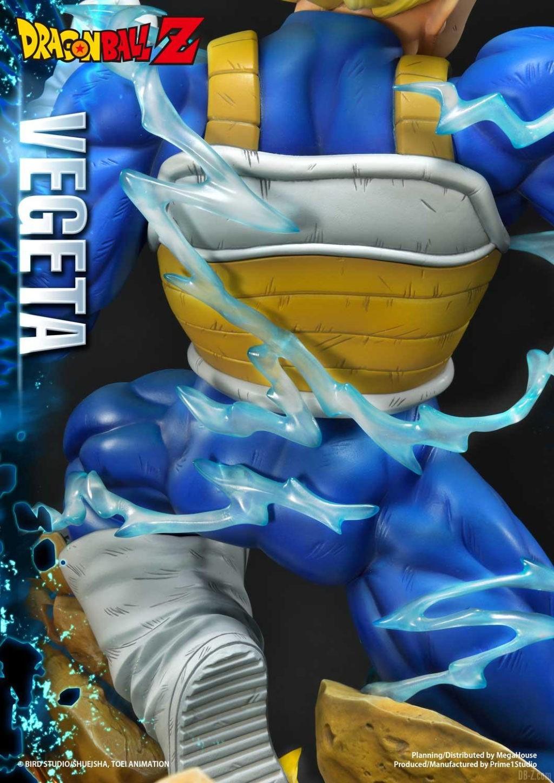 Statue Mega Premium Masterline Dragon Ball Z Super Saiyan Vegeta 39