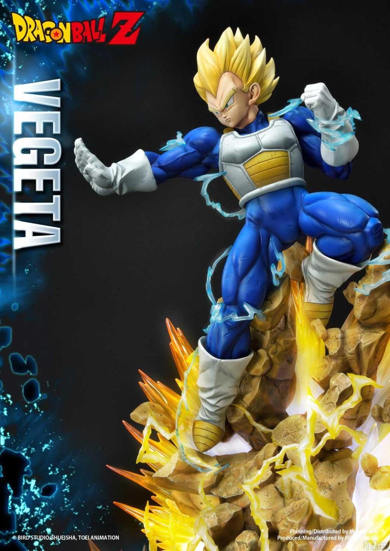 Statue Mega Premium Masterline Dragon Ball Z Super Saiyan Vegeta 43