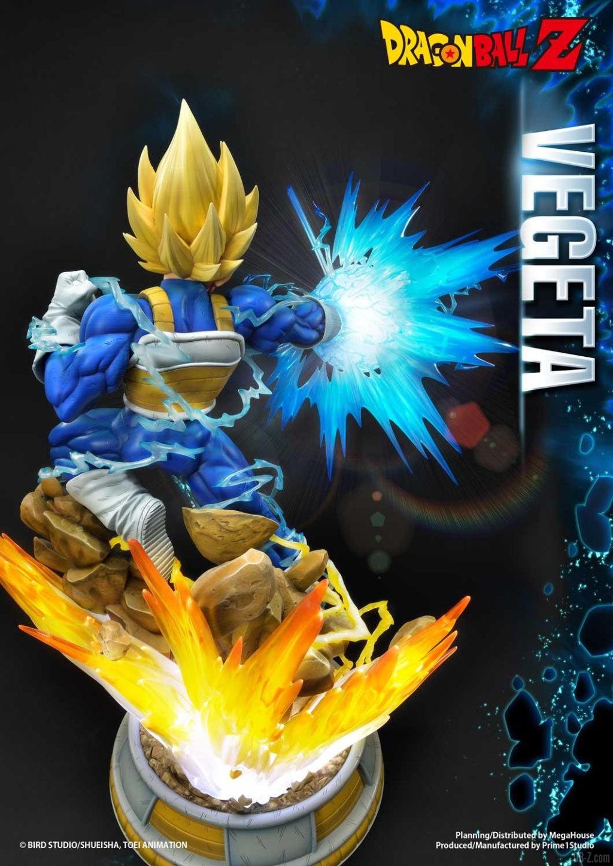 Statue Mega Premium Masterline Dragon Ball Z Super Saiyan Vegeta 44