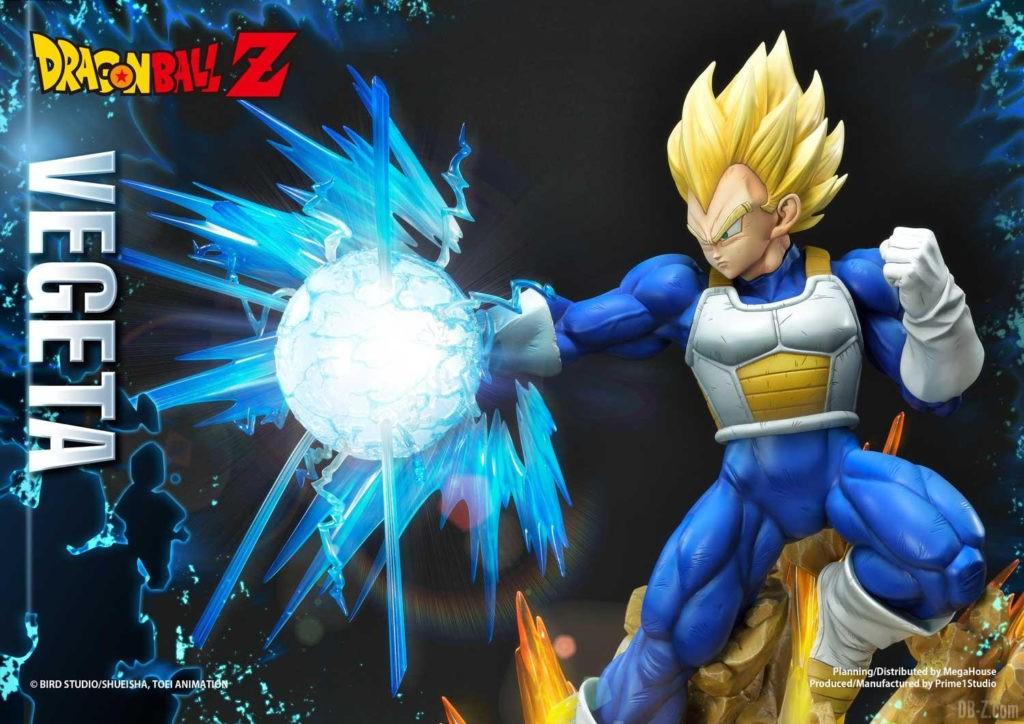 Statue Mega Premium Masterline Dragon Ball Z Super Saiyan Vegeta 46