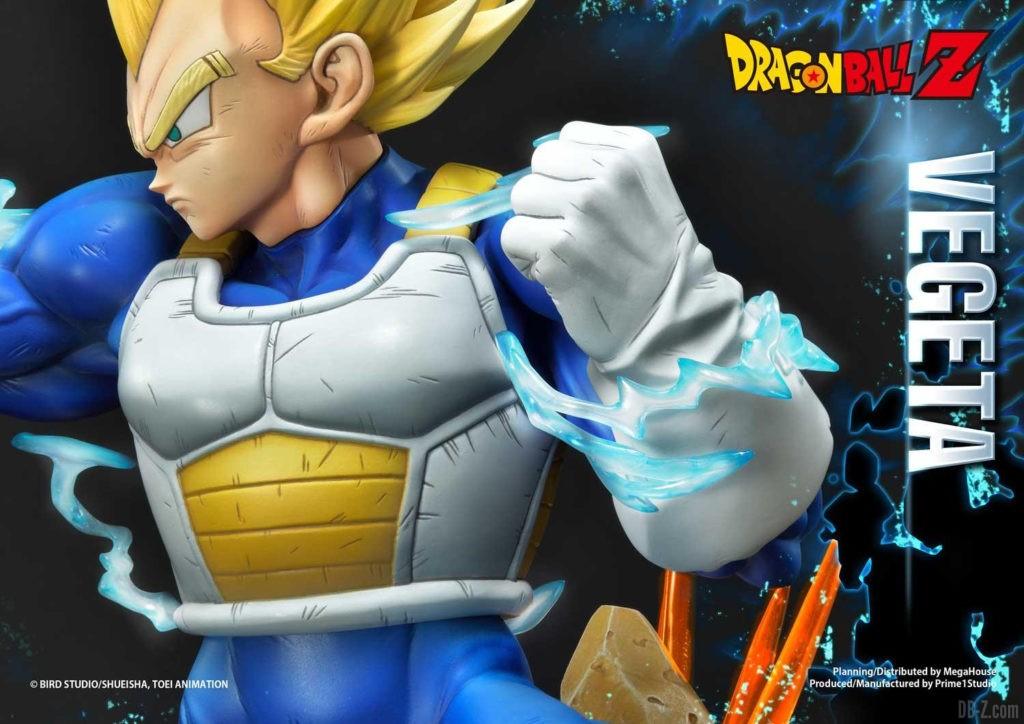 Statue Mega Premium Masterline Dragon Ball Z Super Saiyan Vegeta 64