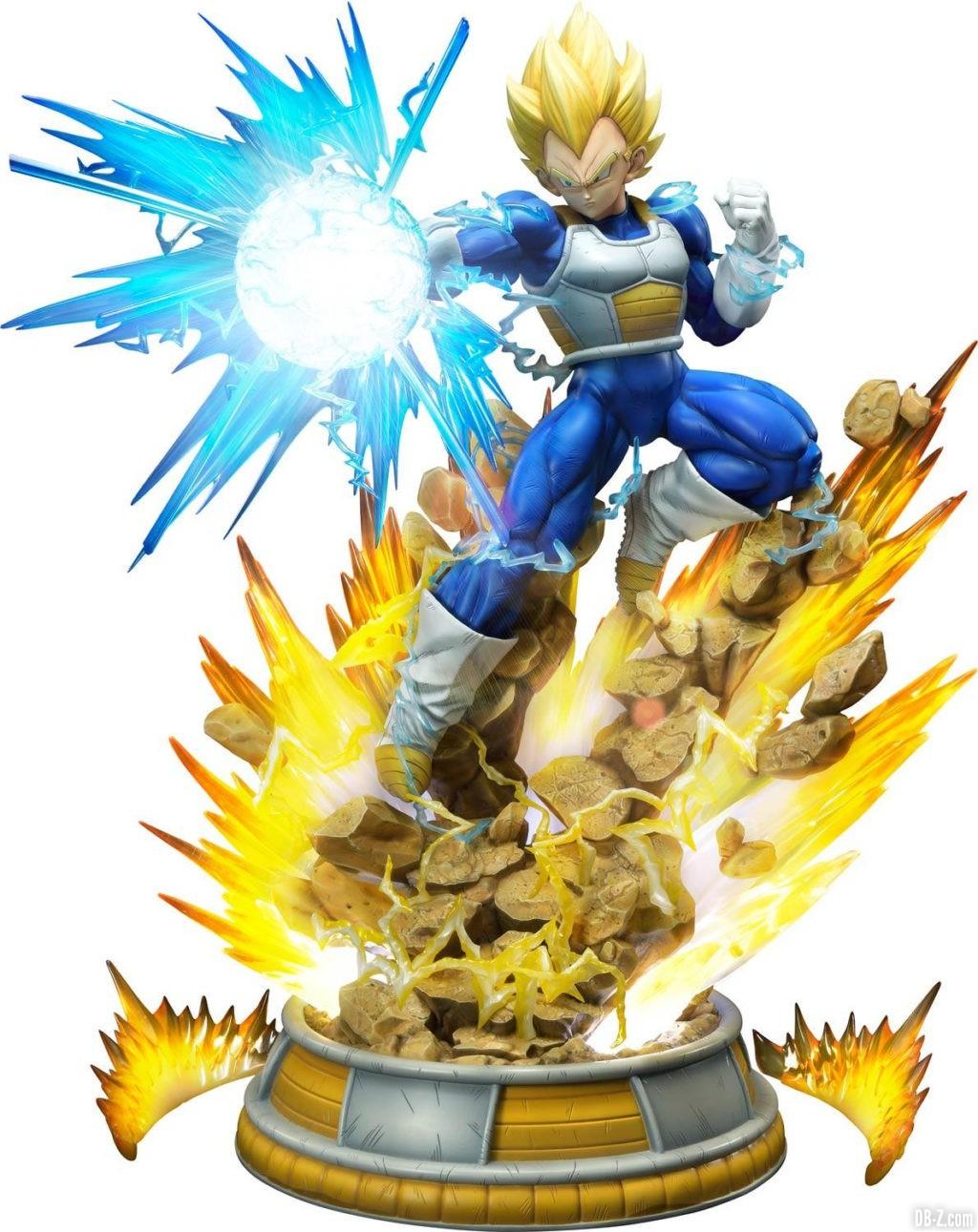 Statue Mega Premium Masterline Dragon Ball Z Super Saiyan Vegeta 67