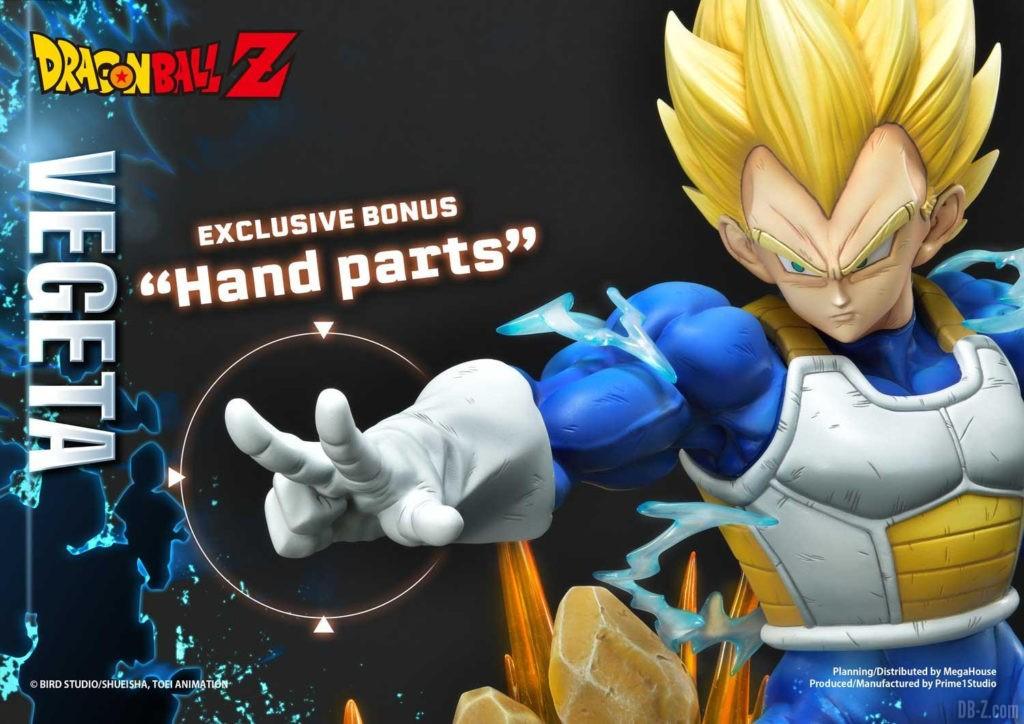 Statue Mega Premium Masterline Dragon Ball Z Super Saiyan Vegeta 73
