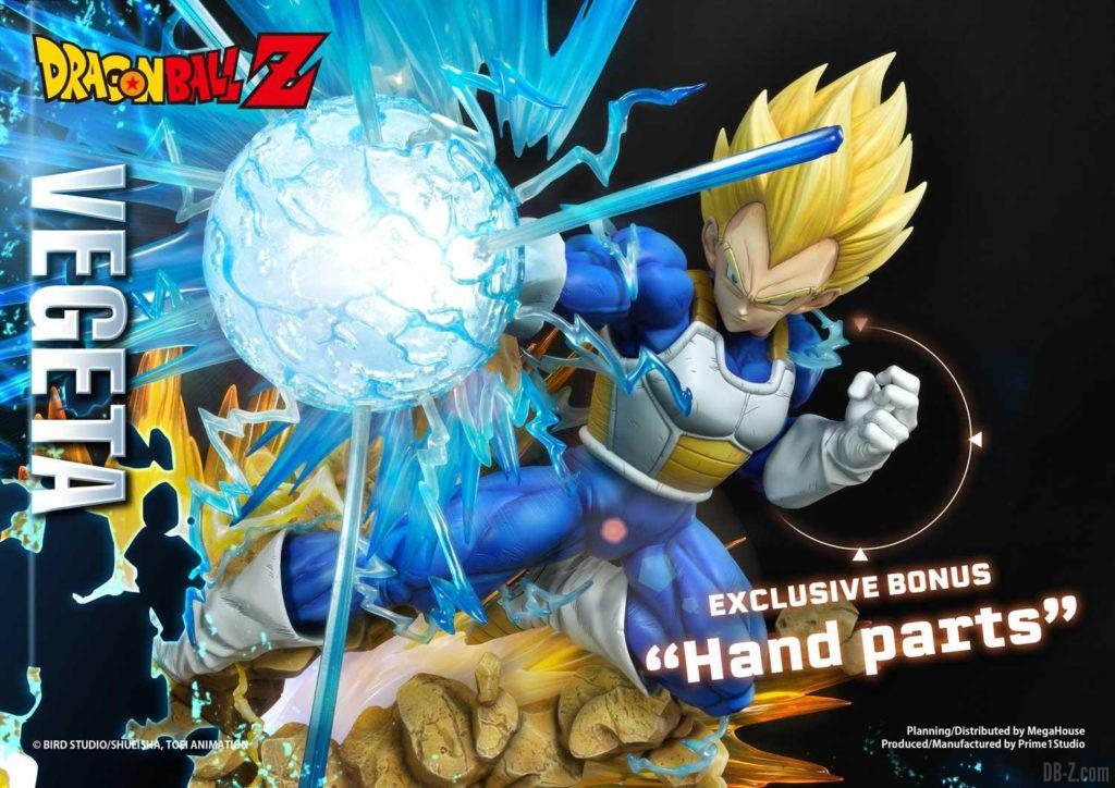 Statue Mega Premium Masterline Dragon Ball Z Super Saiyan Vegeta 76