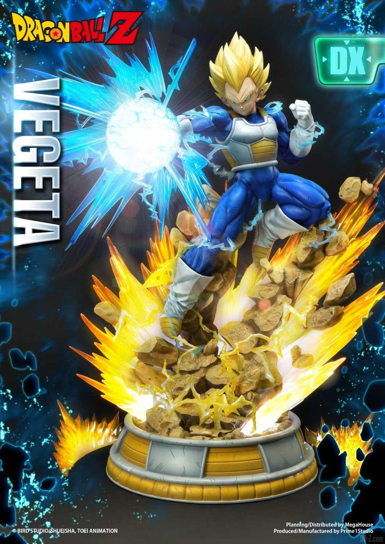 Statue Mega Premium Masterline Dragon Ball Z Super Saiyan Vegeta DX 02