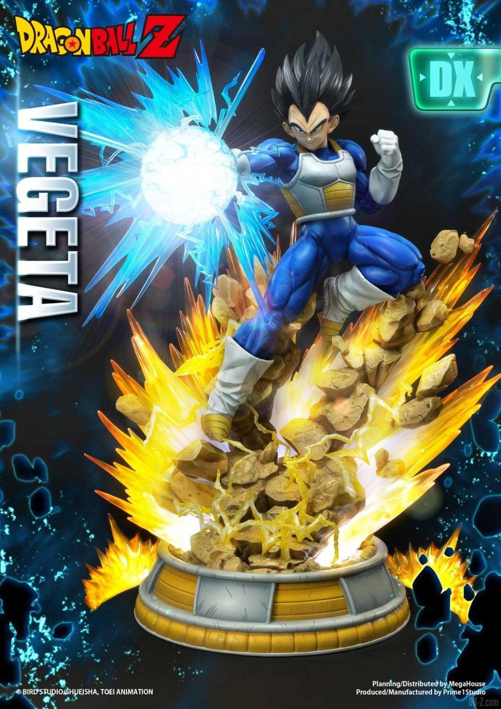 Statue Mega Premium Masterline Dragon Ball Z Super Saiyan Vegeta DX 04