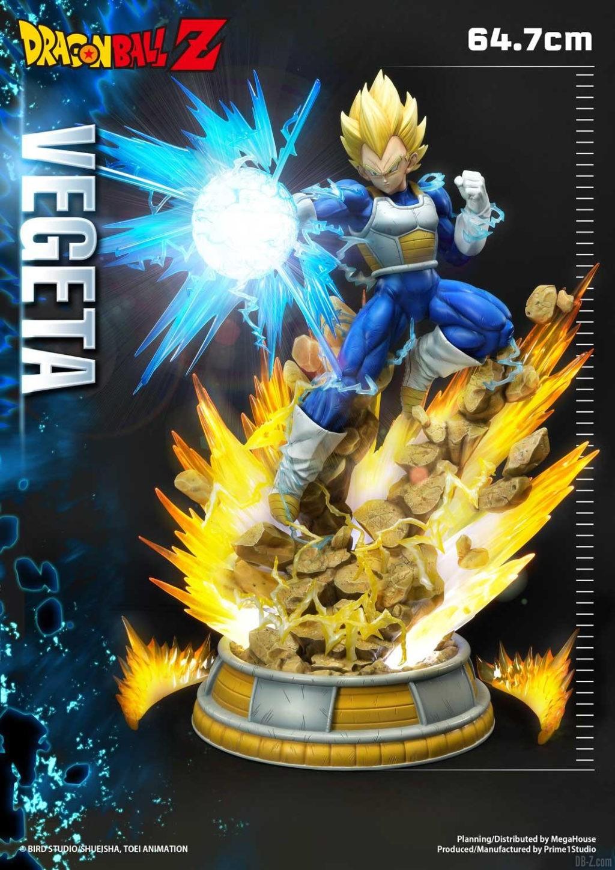 Statue Mega Premium Masterline Dragon Ball Z Super Saiyan Vegeta DX 06