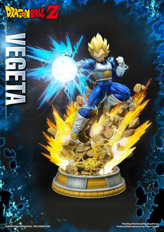 Statue Mega Premium Masterline Dragon Ball Z Super Saiyan Vegeta DX 07