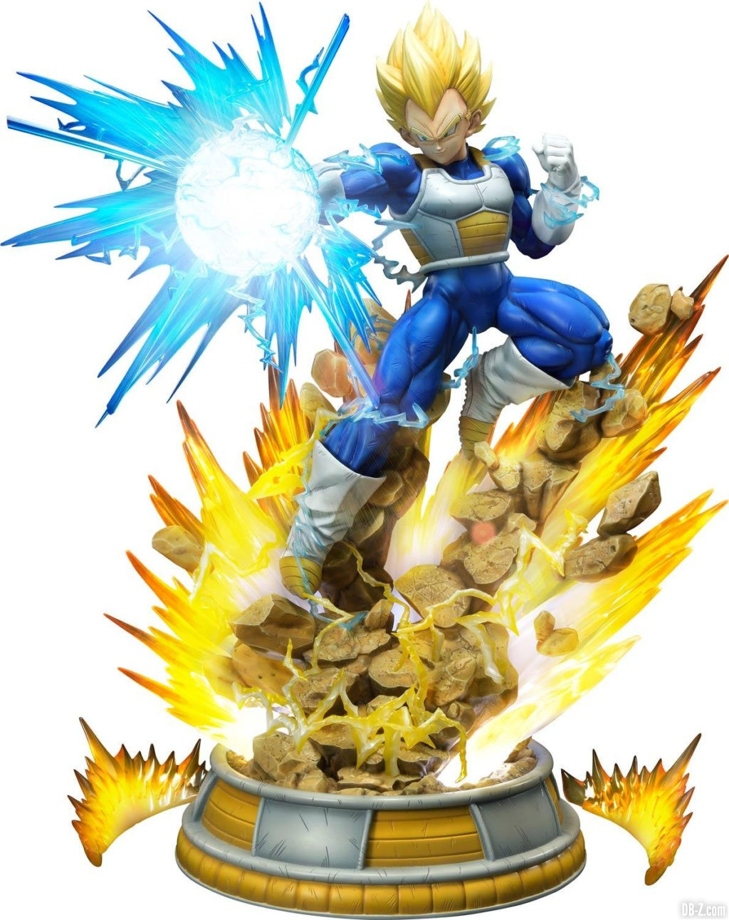 Statue Mega Premium Masterline Dragon Ball Z Super Saiyan Vegeta DX 102