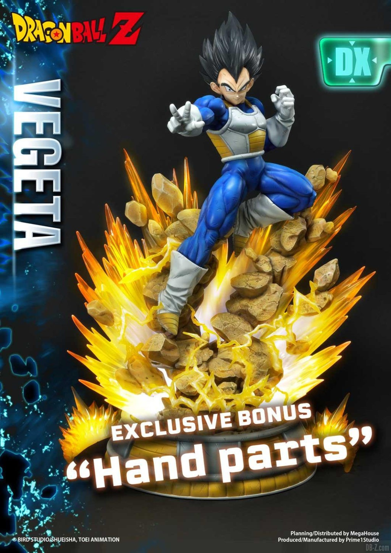 Statue Mega Premium Masterline Dragon Ball Z Super Saiyan Vegeta DX 104